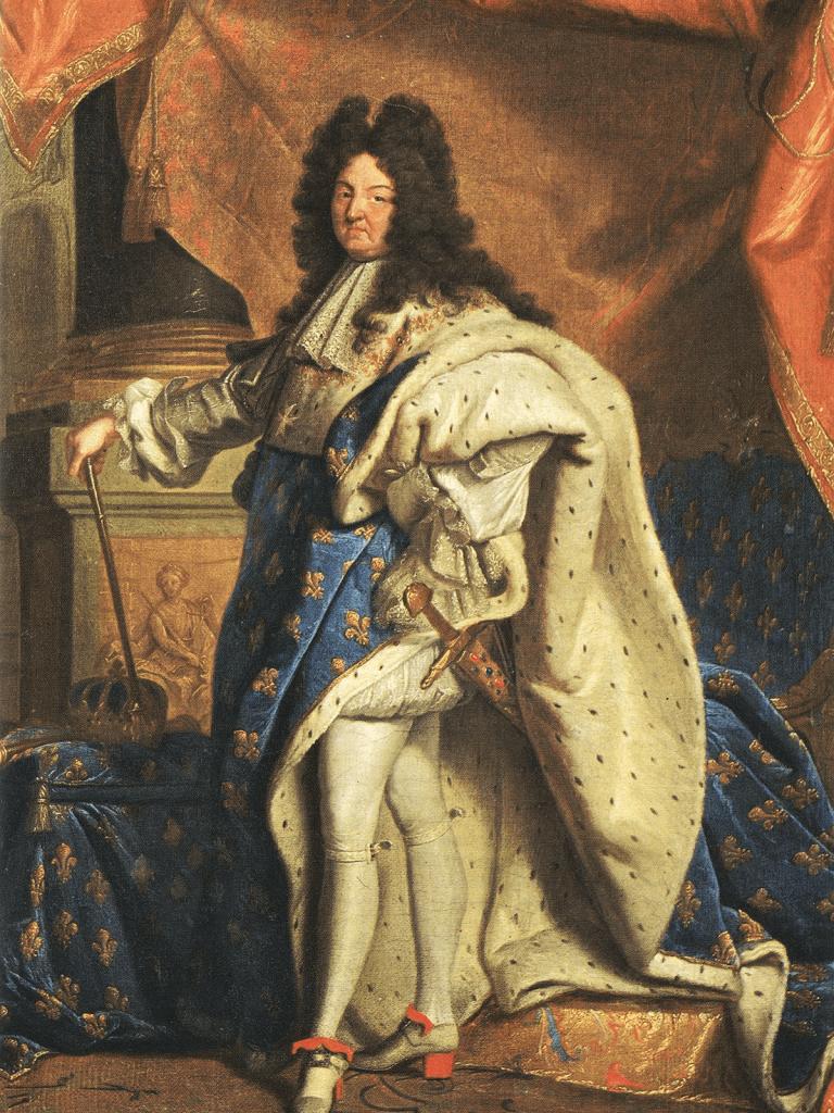 El rey Luis XIV es considerado el modelo del monarca absolutista.