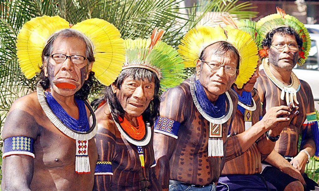 Kayapó indio