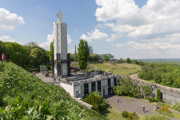 Estatua del Holodomor Memorial en Kiev, Ucrania